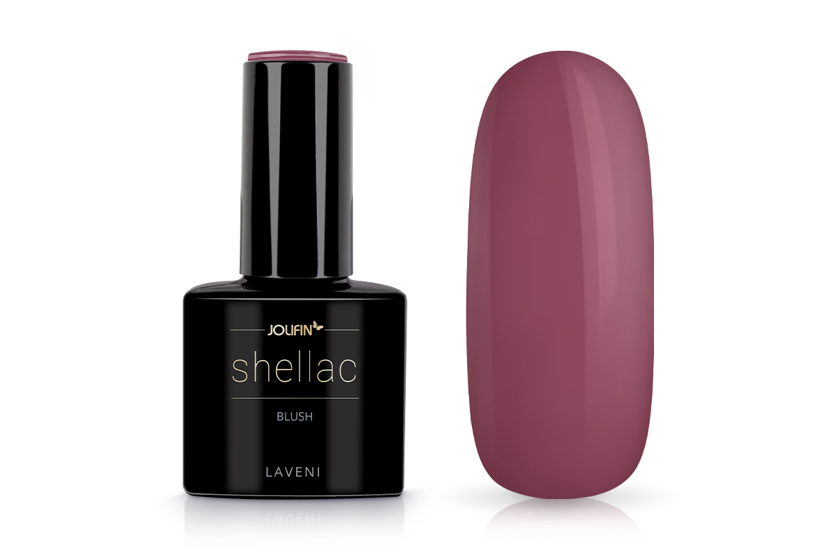 Jolifin LAVENI Shellac - blush 12ml