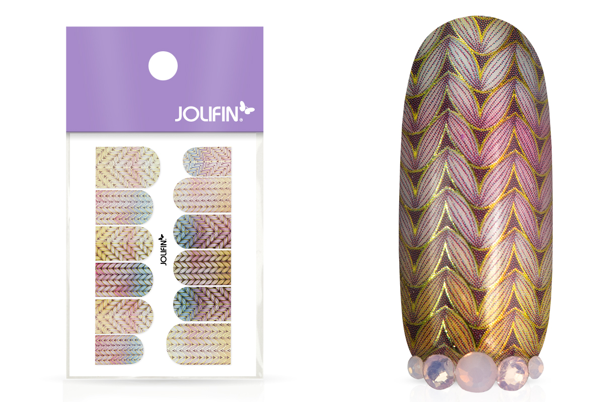 Jolifin Metallic Tattoo - Christmas Nr. 5