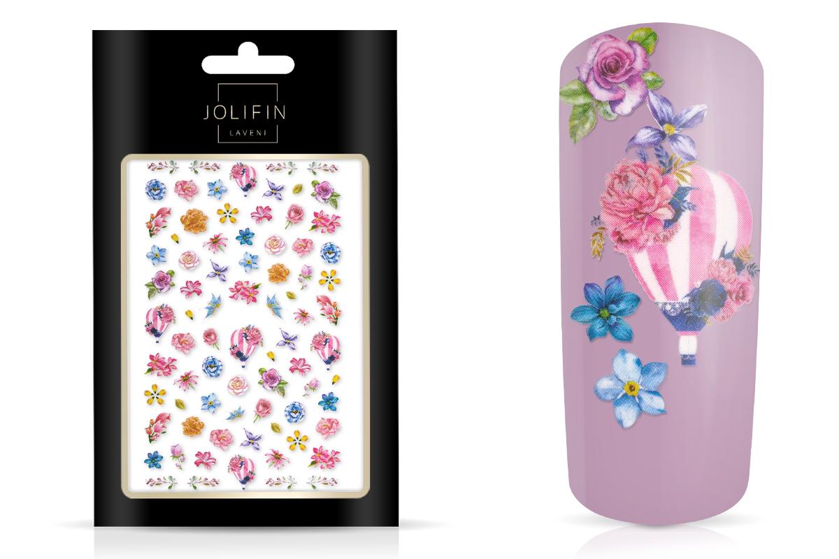 Jolifin LAVENI XL Sticker - Flowers Nr. 2