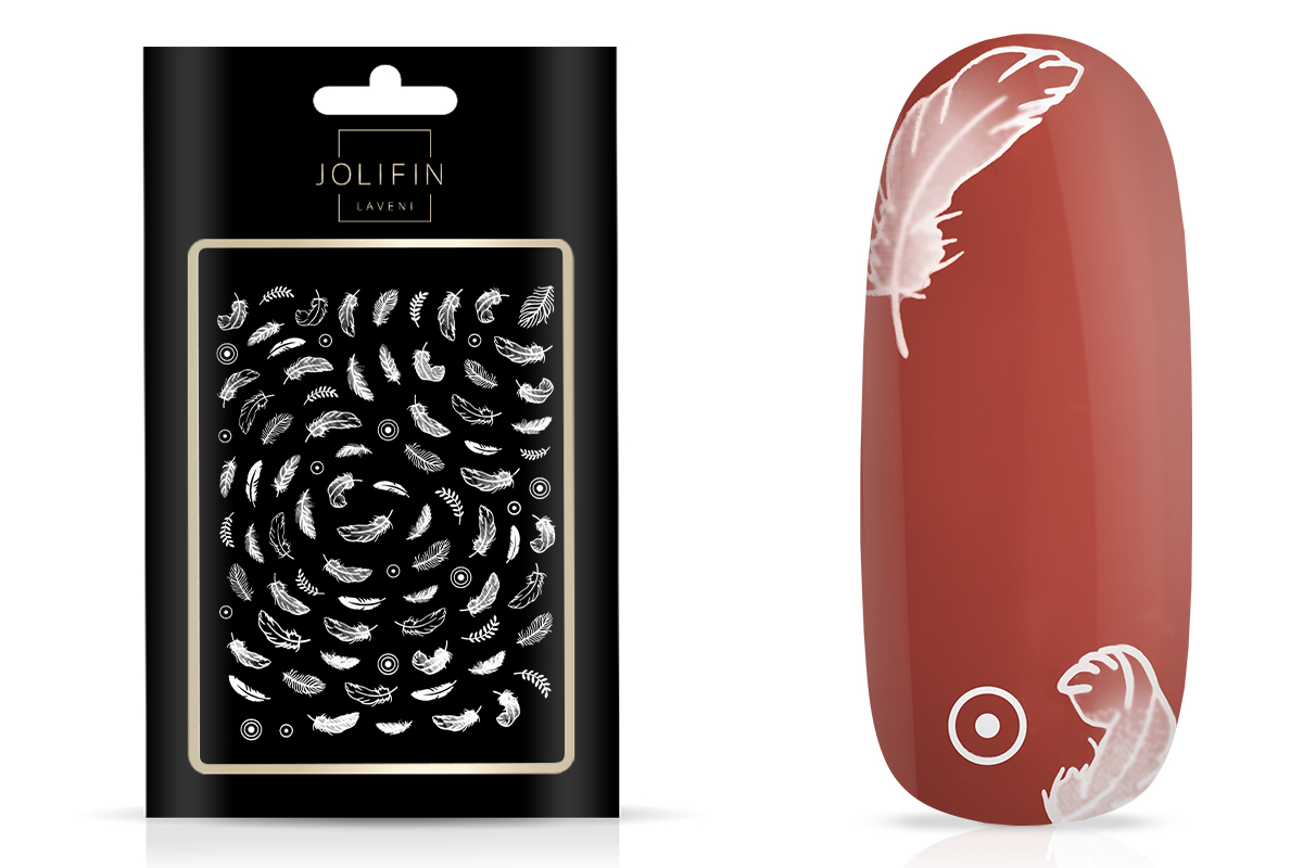 Jolifin LAVENI XL Sticker - White 9
