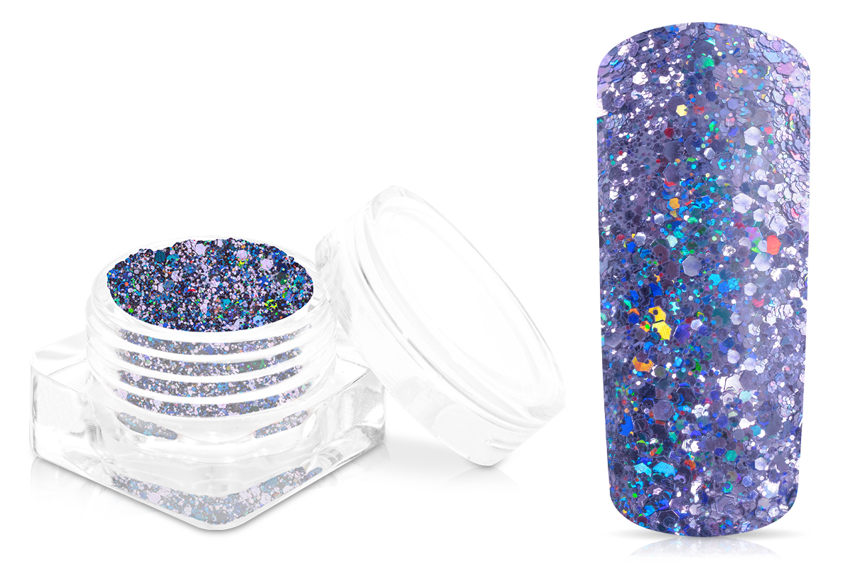 Jolifin Disco Ball Glitter - purple