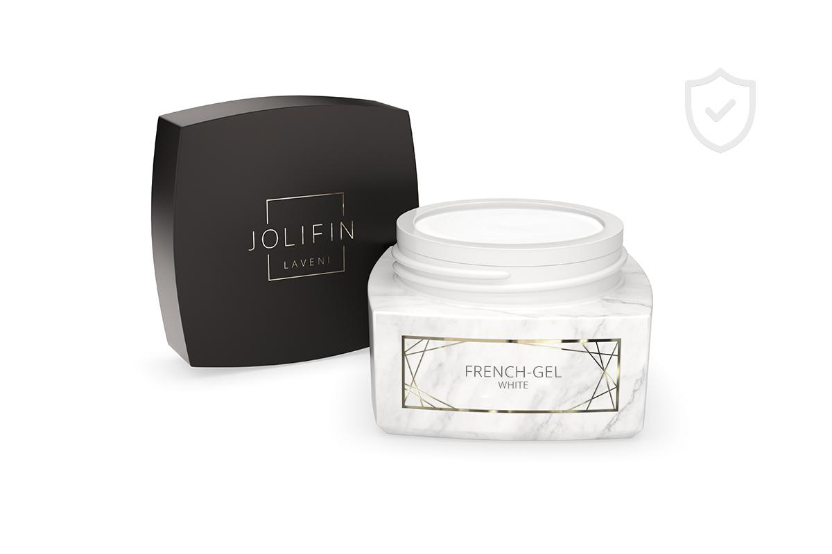Jolifin LAVENI PRO - French-Gel white 5ml