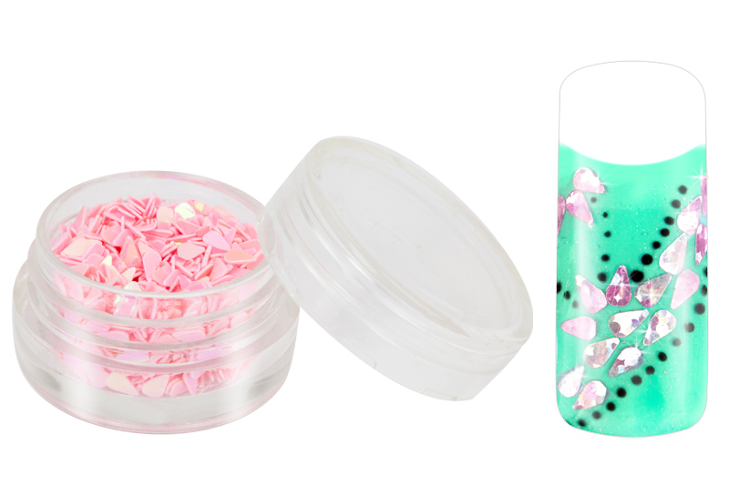 Jolifin Glitter Drops rosa