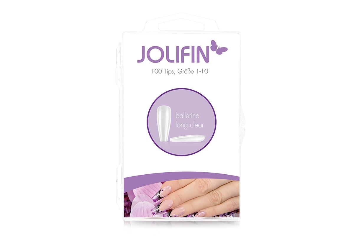 Jolifin 100er Tipbox Press-On Ballerina long