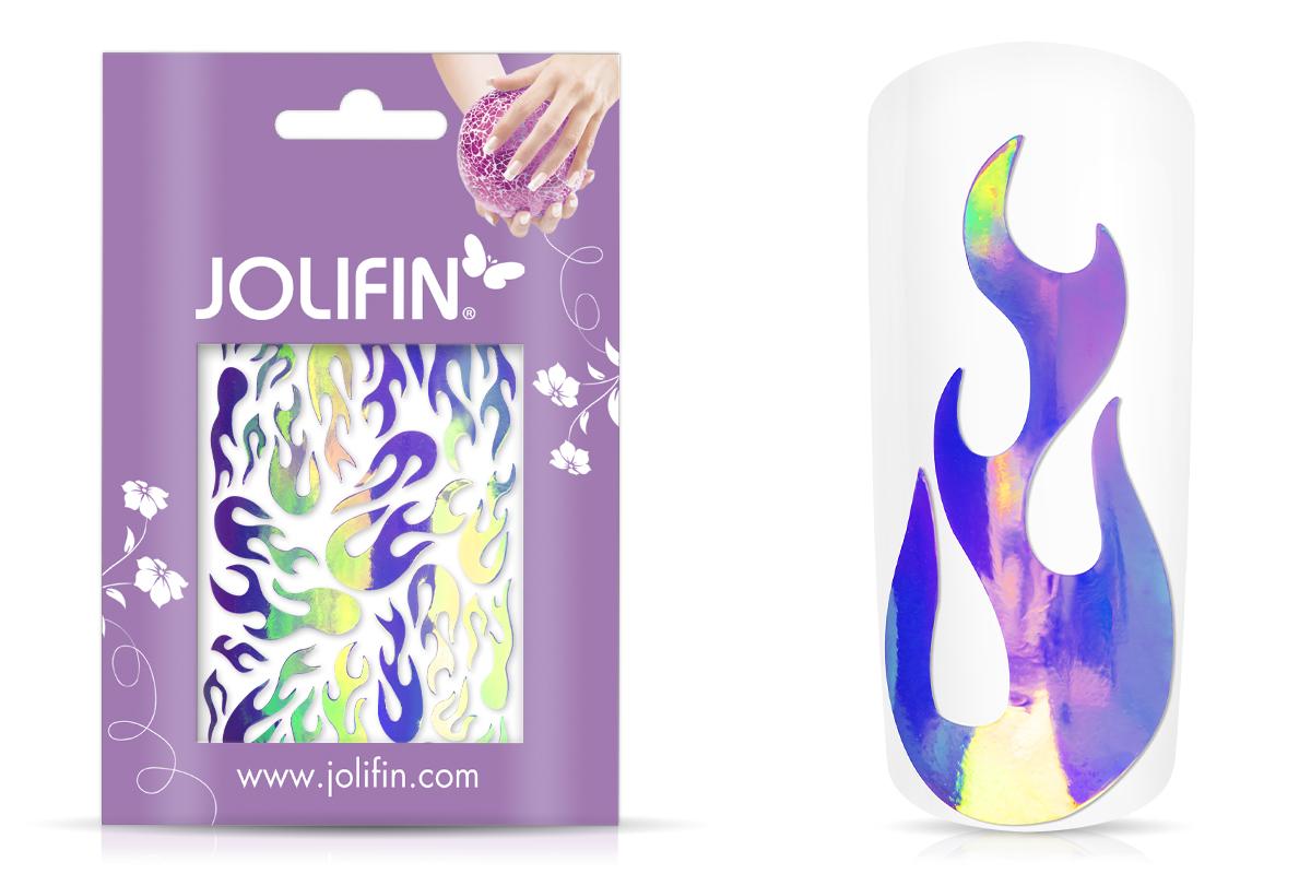 Jolifin Aurora Sticker - Flame galaxy
