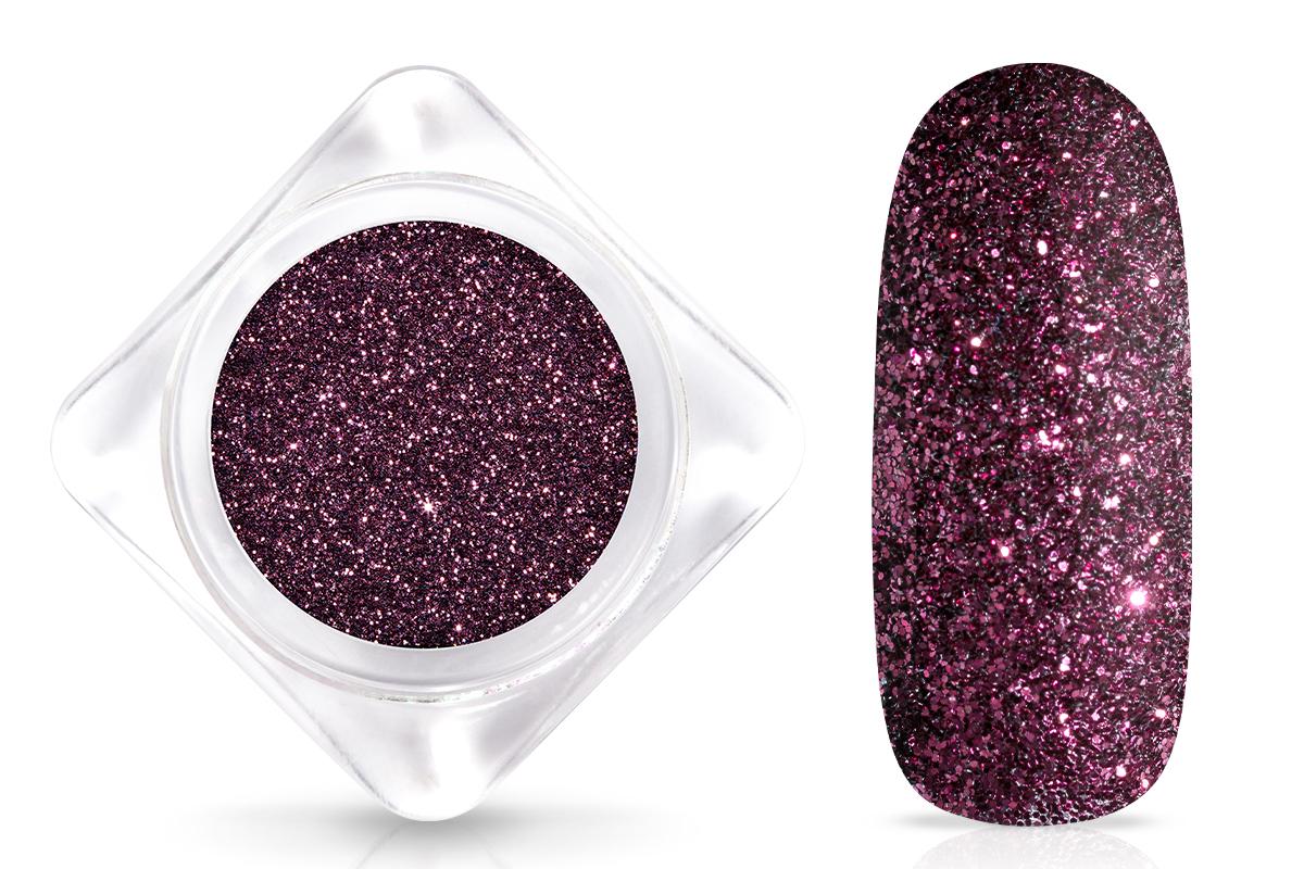 Jolifin Glitterpuder - deep berry