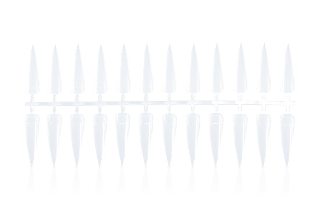 Jolifin Stiletto Präsentationstips One-Size - clear 120Stk.