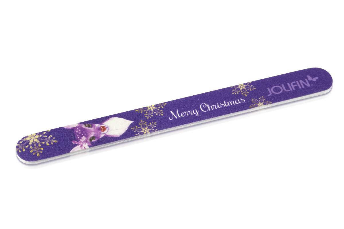 Jolifin Weihnachtsfeile - Rudolfine lila 100/180