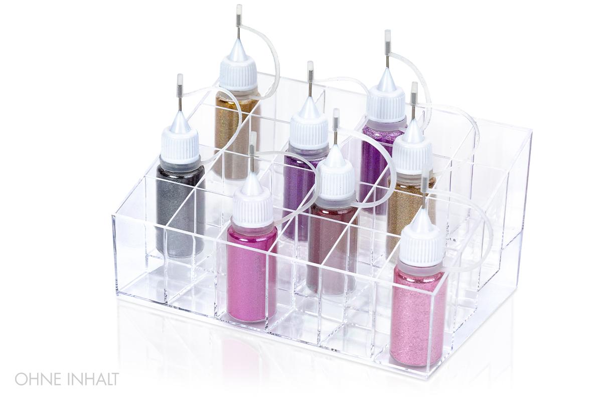 Jolifin Etagen Display für Glitterflaschen
