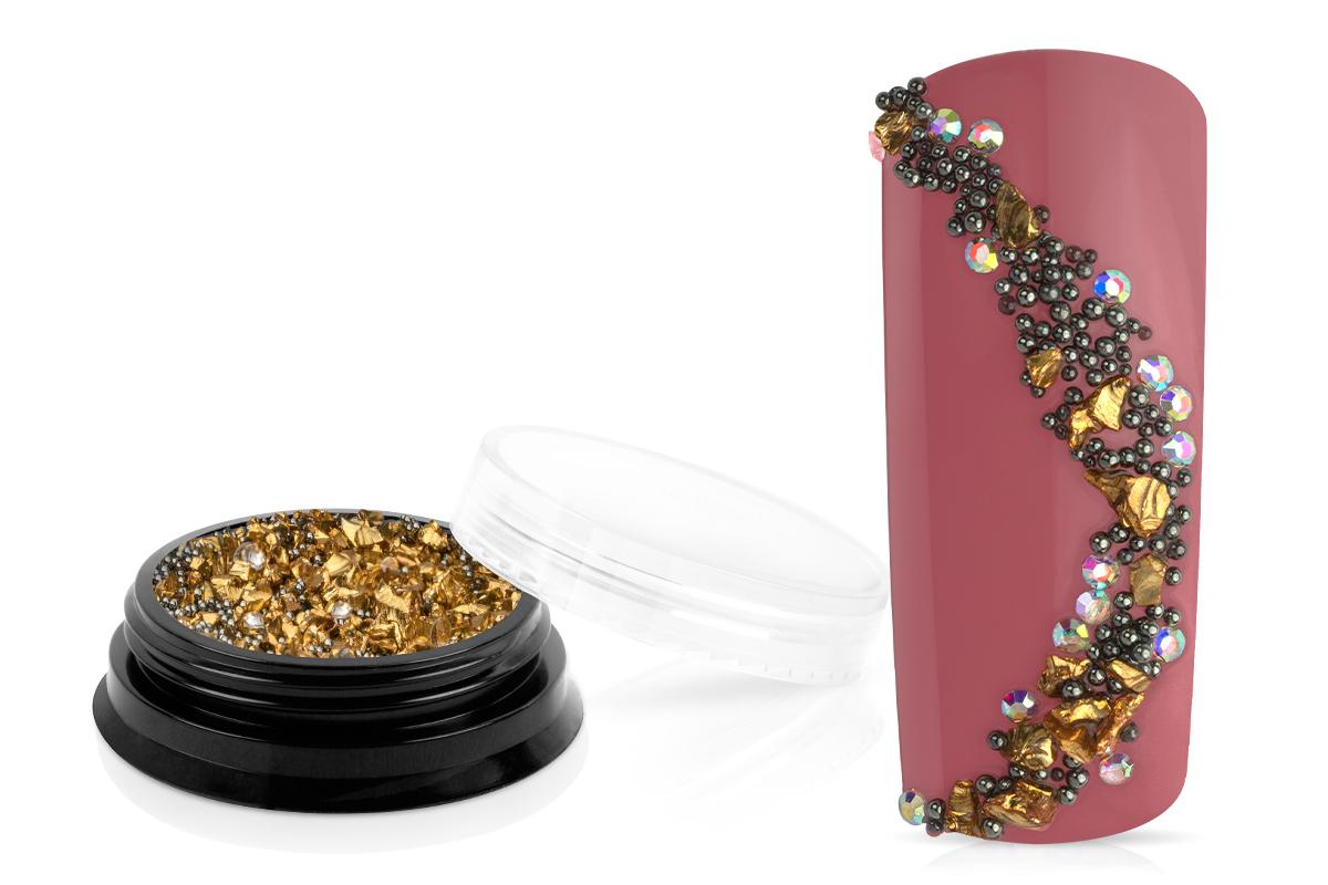 Jolifin LAVENI Luxury Pearl Mix - gold