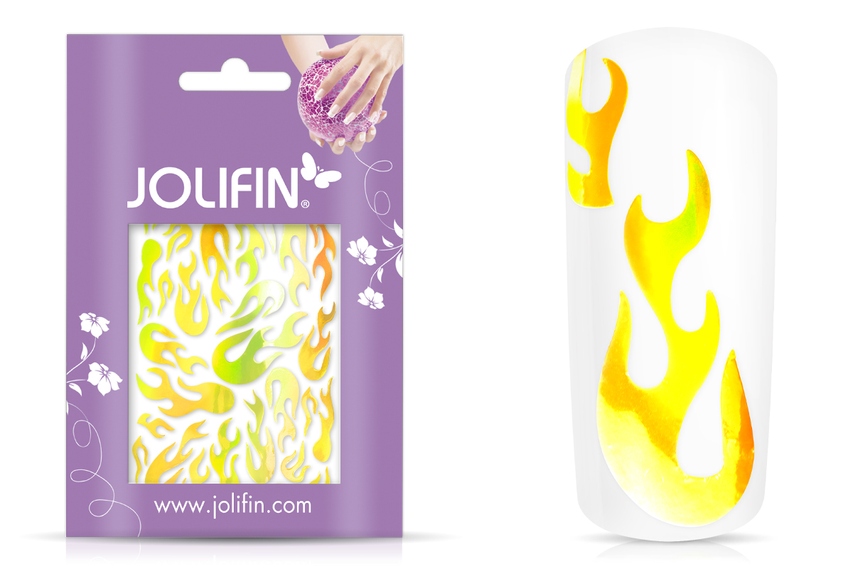 Jolifin Aurora Sticker - Flame sunshine