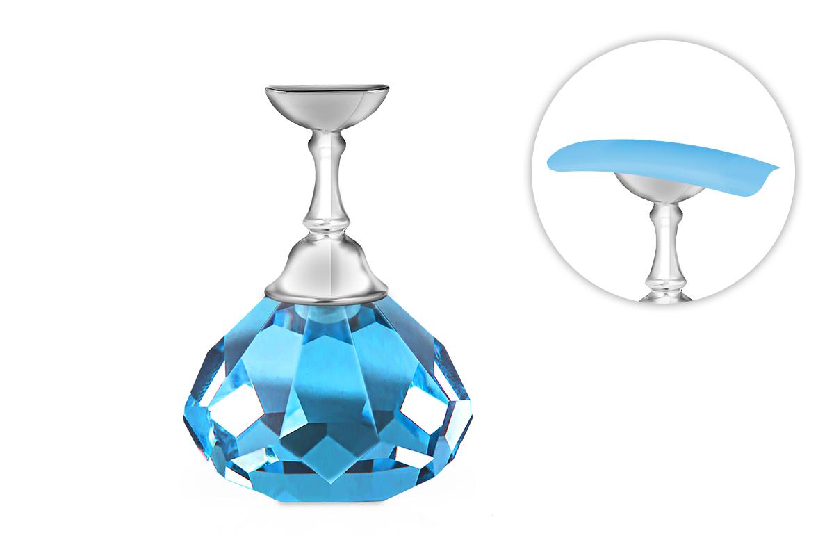Jolifin Nailart Tiphalter - Diamant türkis