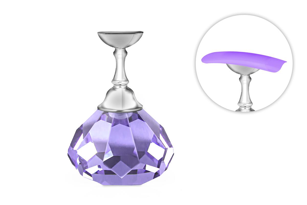 Jolifin Nailart Tiphalter - Diamant purple