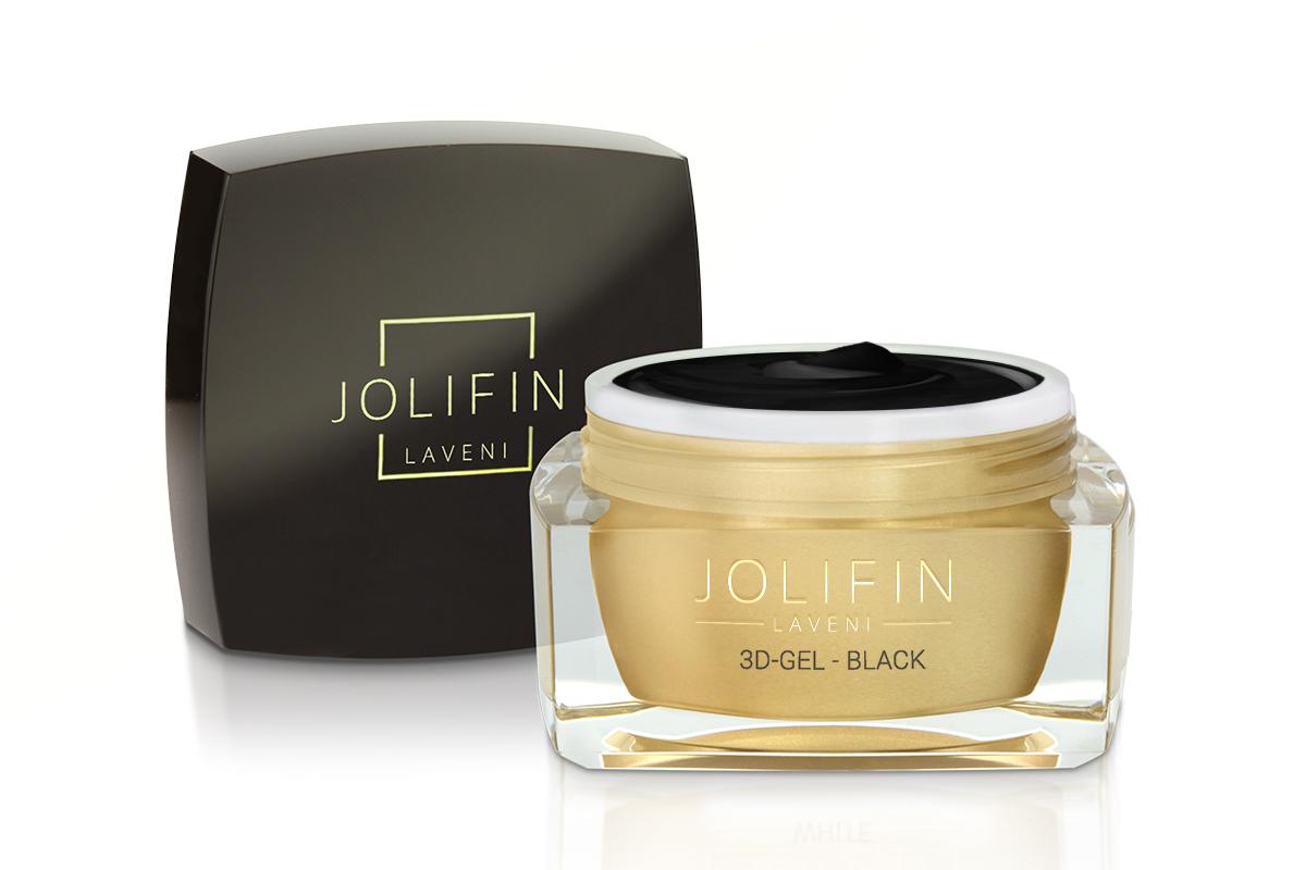 Jolifin LAVENI 3D-Gel - black 5ml