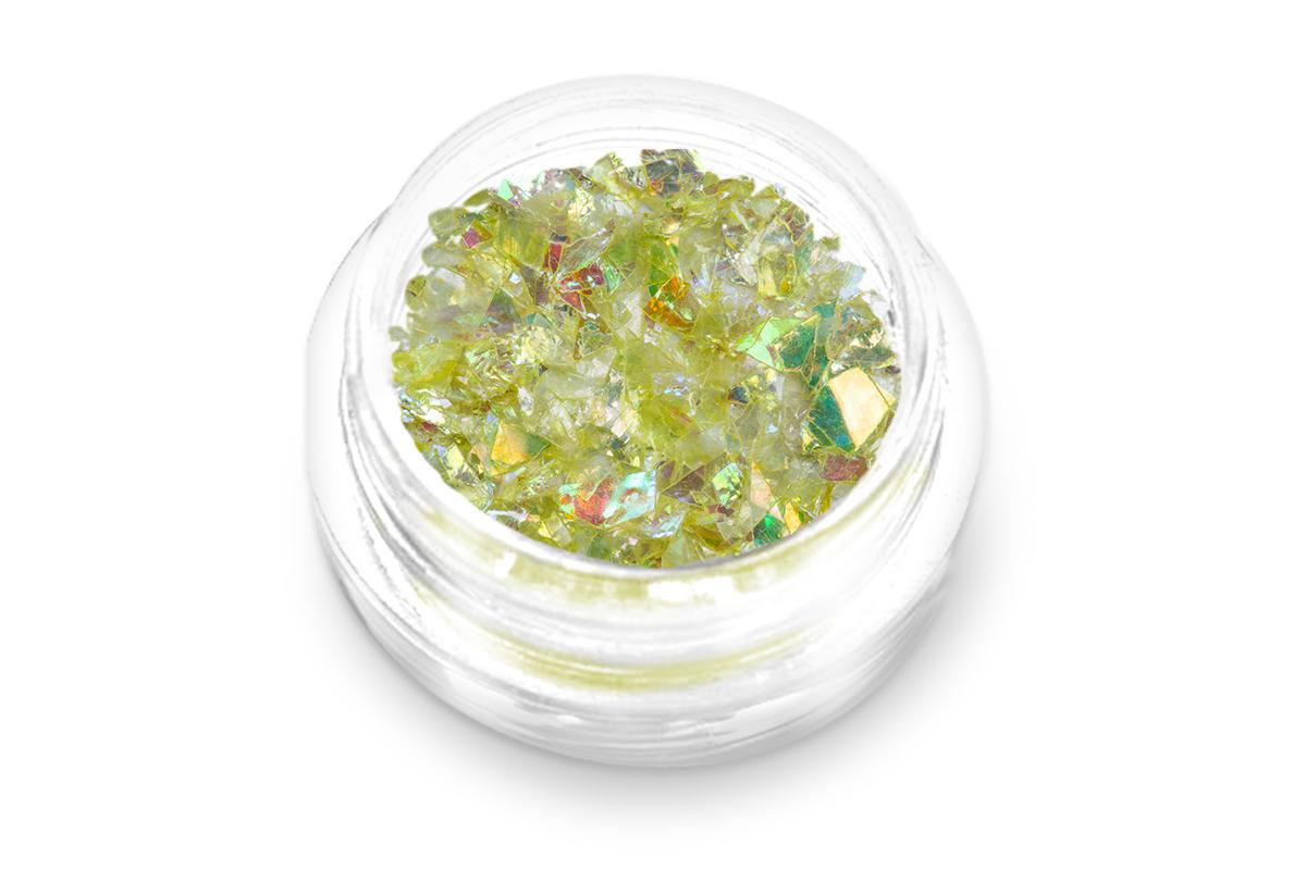 Jolifin Glitter Flakes gelb
