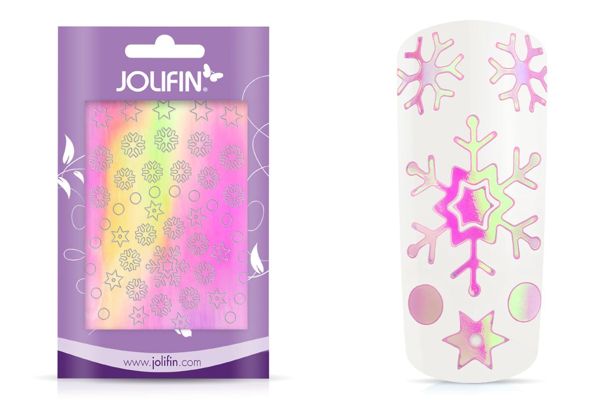 Jolifin Aurora Sticker - Snowflakes sweet candy
