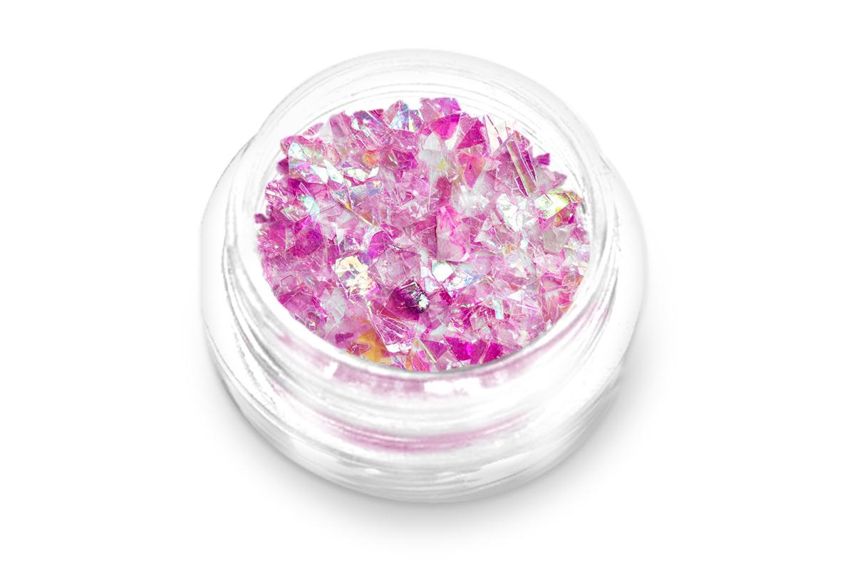 Jolifin Glitter Flakes pink