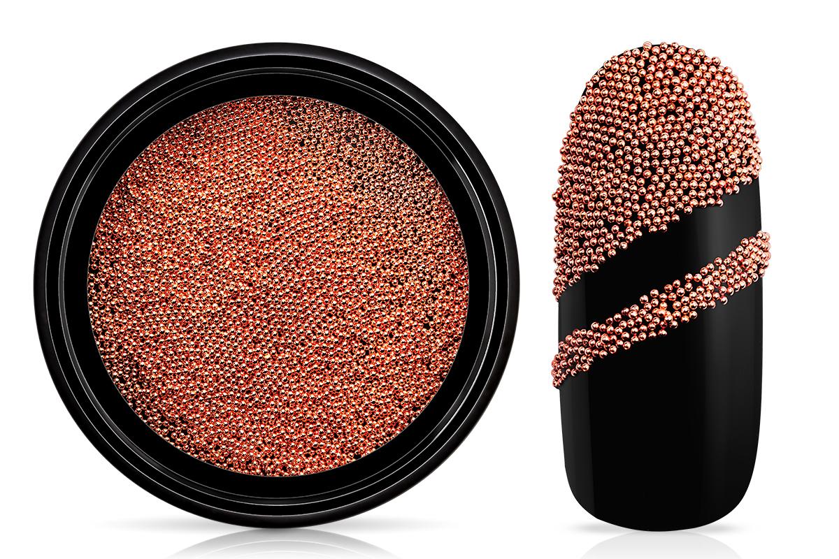 Jolifin LAVENI Magnetic Micro Pearls - rosé-gold