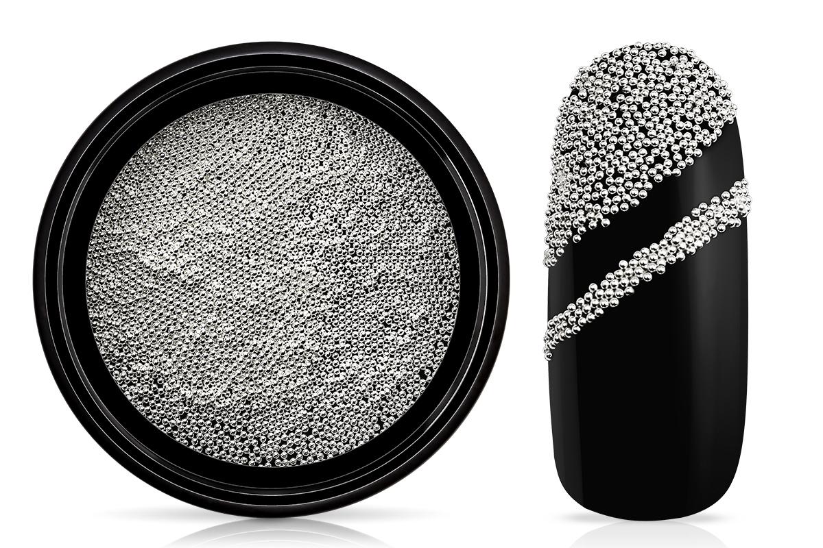 Jolifin LAVENI Magnetic Micro Pearls - silver
