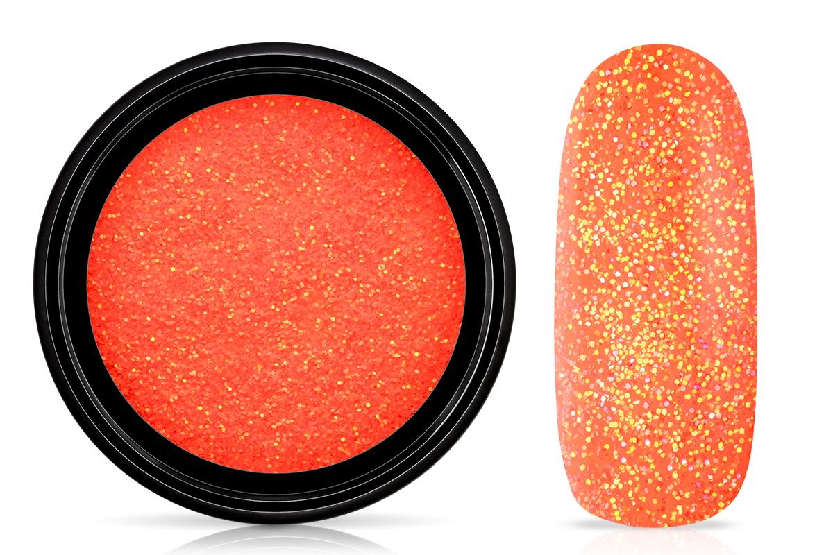 Jolifin LAVENI Nightshine Glitter - neon-peach