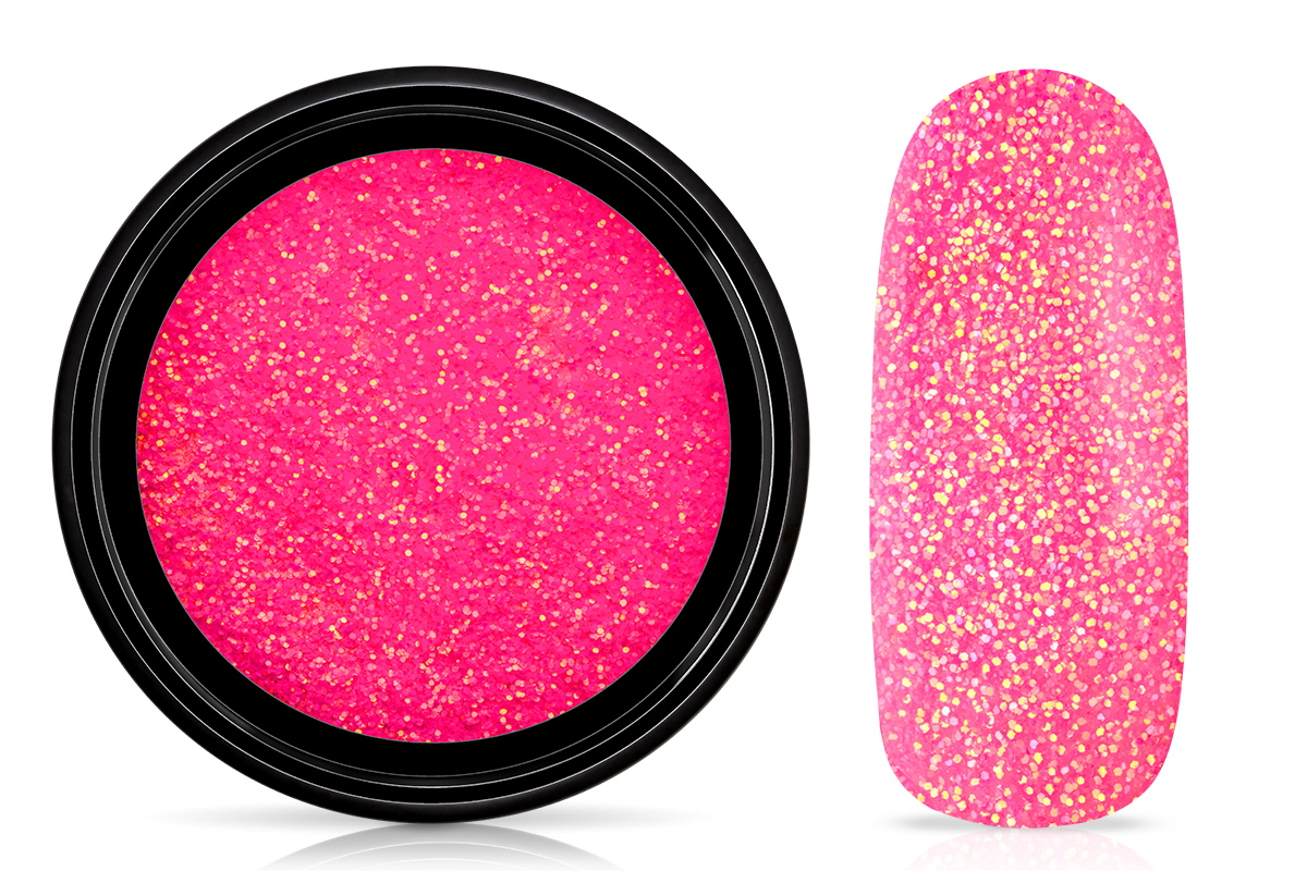 Jolifin LAVENI Nightshine Glitter - neon-pink