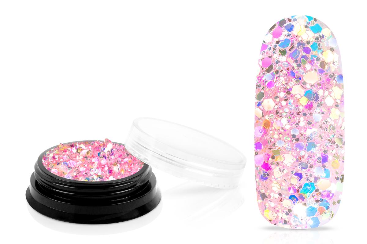 Jolifin LAVENI Mermaid Glitter - rosy seashell