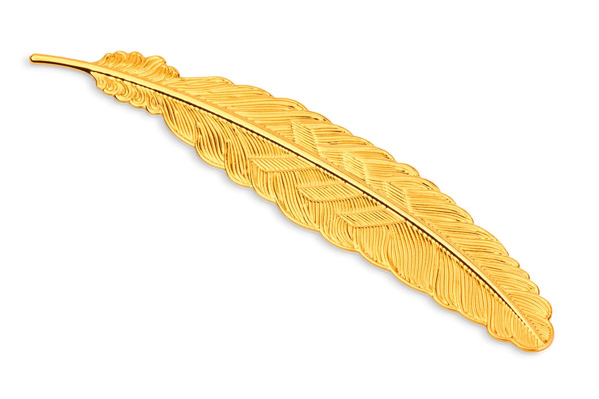 Jolifin Präsentationsdisplay - Feder gold