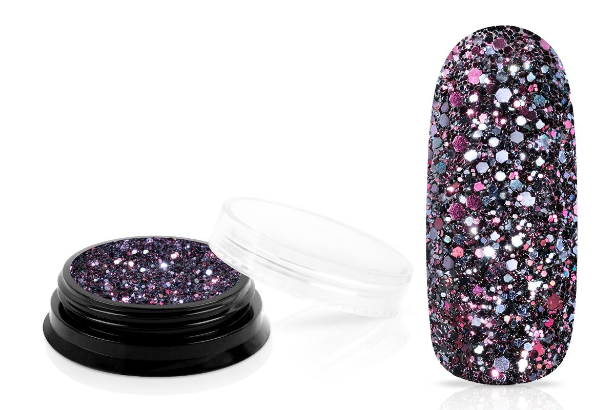 Jolifin LAVENI Luxury Glitter - black rose