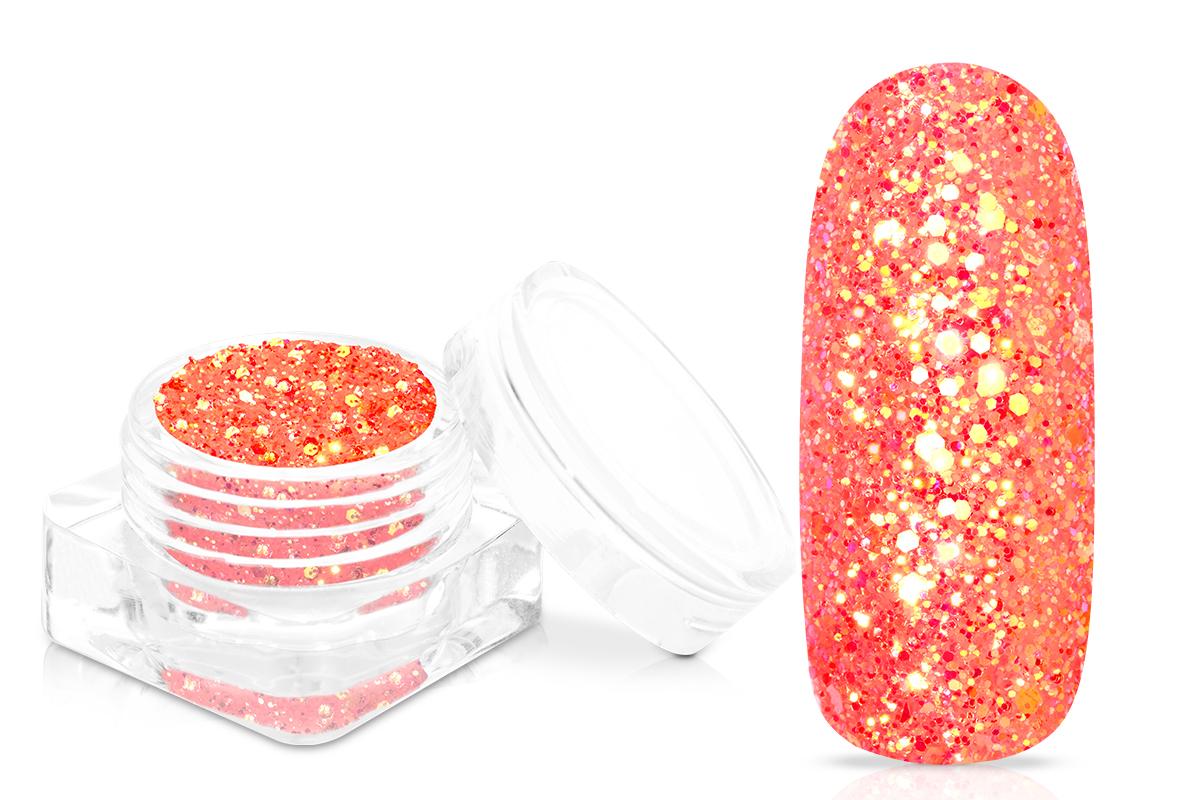 Jolifin Mermaid Glam Glitter - neon-peach