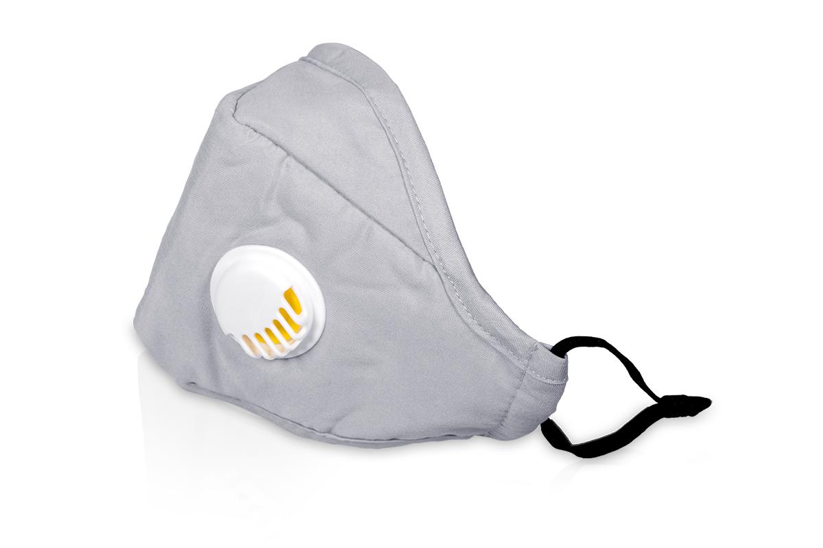 Jolifin Lashes - Mundschutz mit Filter - grau