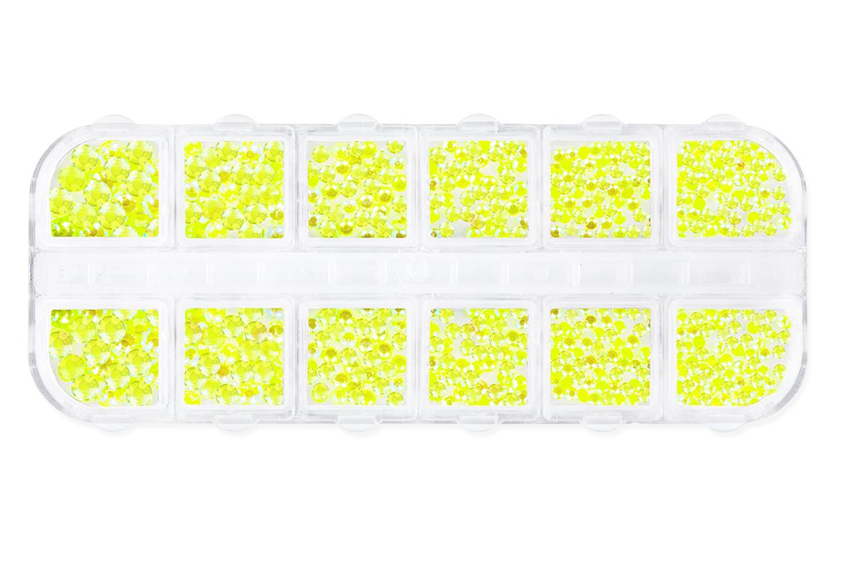 Jolifin LAVENI Strass-Display XL - neon-yellow