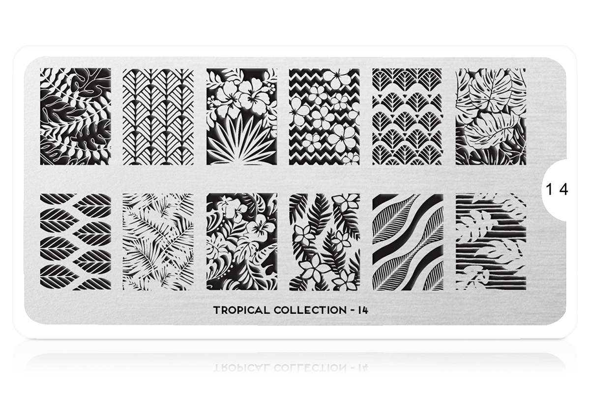 MoYou-London Schablone Tropical Collection 14