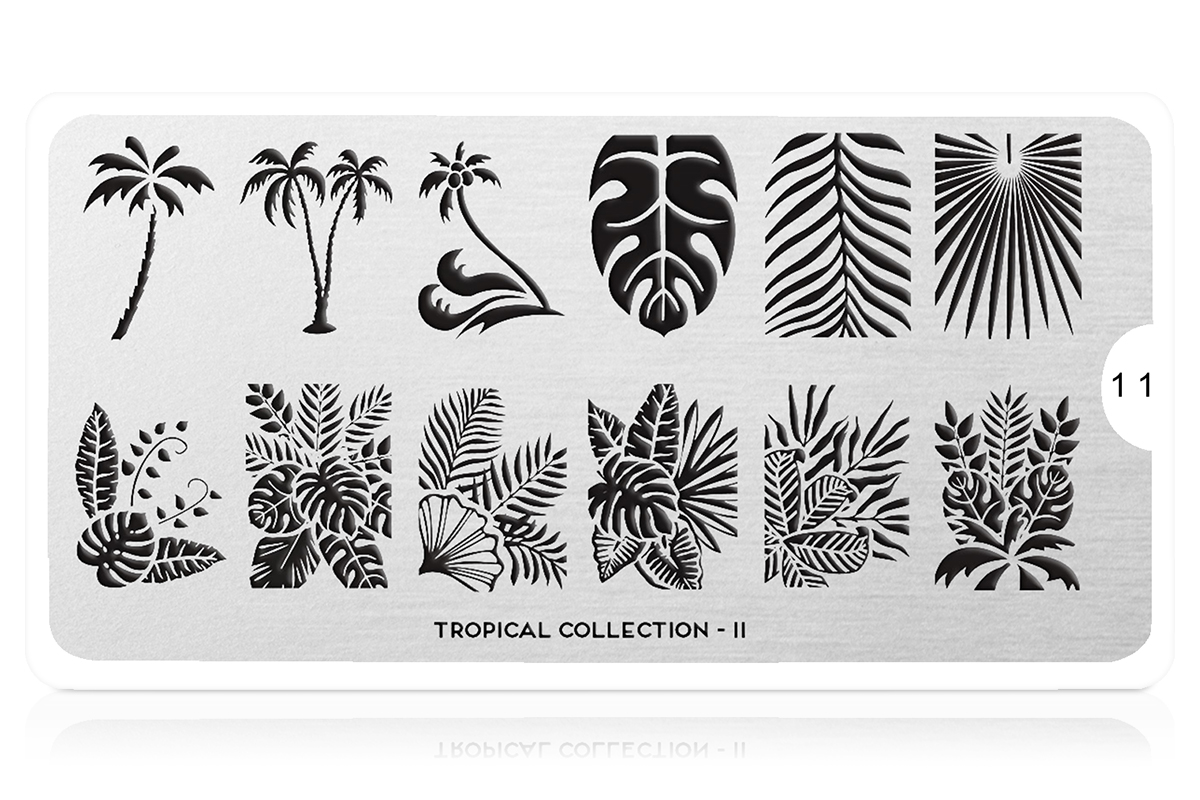 MoYou-London Schablone Tropical Collection 11