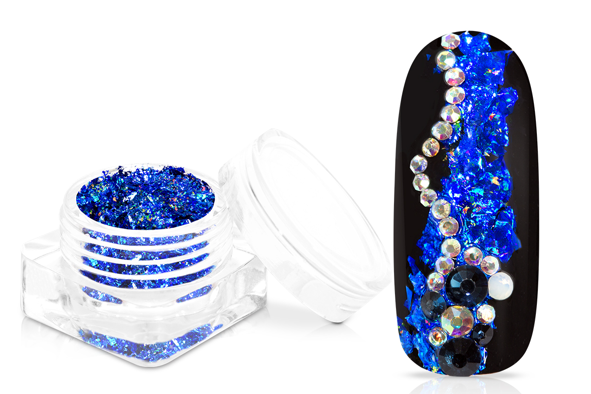 Jolifin Foil Flakes - Hologramm blue