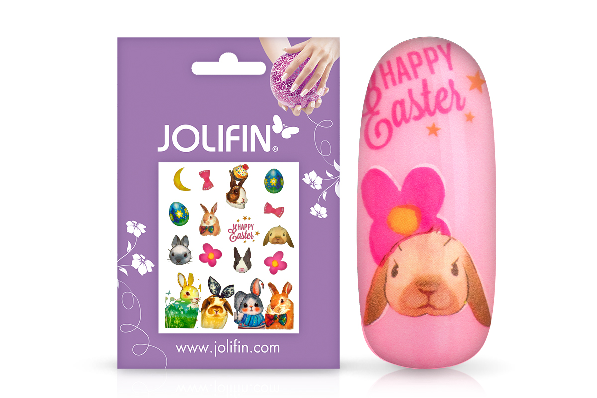Jolifin Happy Easter Tattoo - Nr. 2