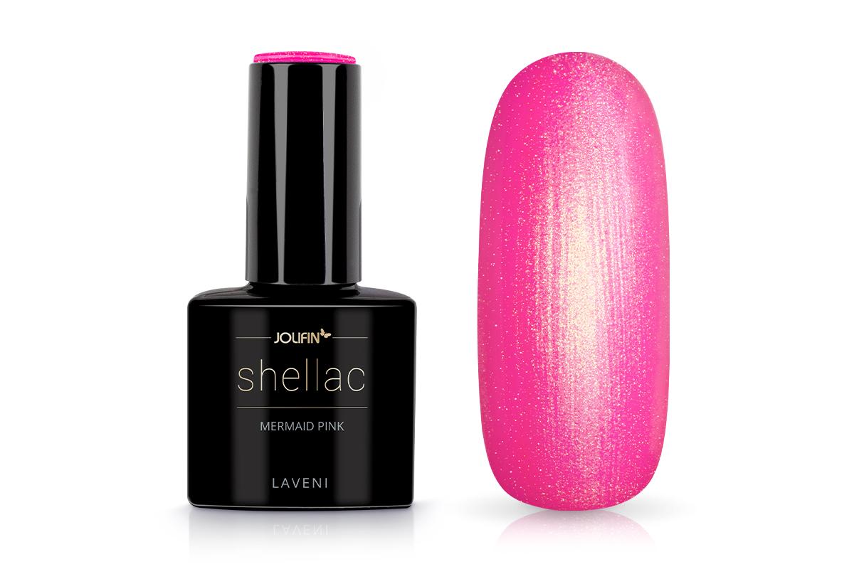 Jolifin LAVENI Shellac - mermaid pink 12ml