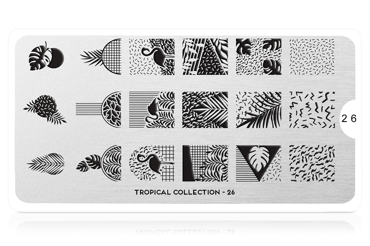 MoYou-London Schablone Tropical Collection 26
