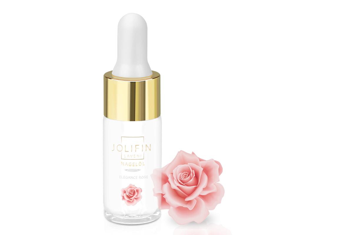 Jolifin LAVENI Nagelöl - elegance rose 10ml