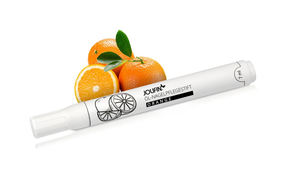 Jolifin Öl-Nagelpflegestift - Orange 7ml