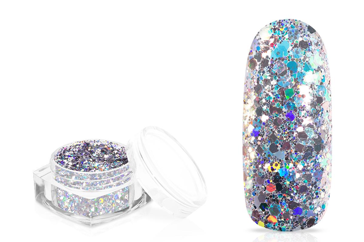 Jolifin Mermaid Party Glitter - silver