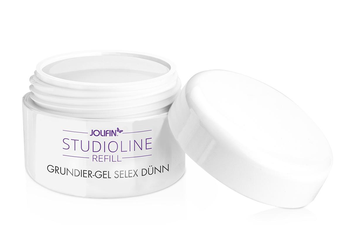 Jolifin Studioline Refill - Grundier-Gel Selex dünn 30ml