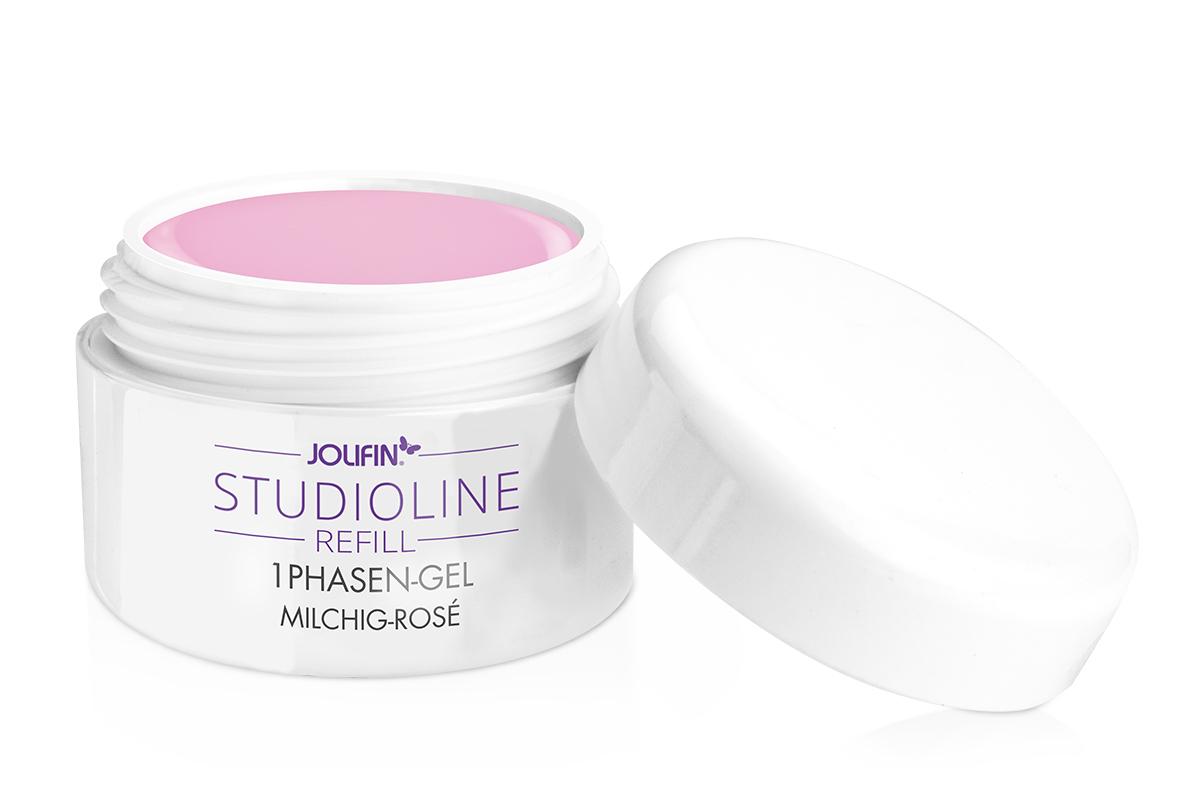 Jolifin Studioline Refill - 1Phasen-Gel milchig-rosé 5ml