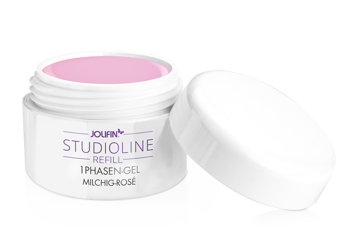 Jolifin Studioline - 1Phasen-Gel milchig-rosé 15ml