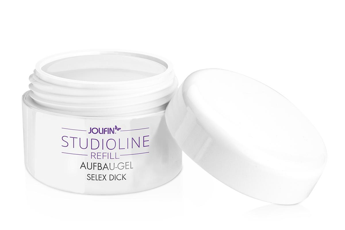Jolifin Studioline Refill - Aufbau-Gel Selex dick 5ml