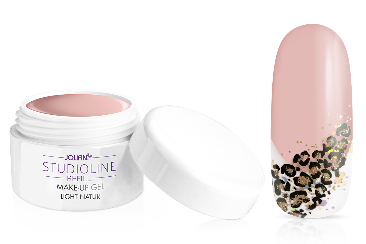 Jolifin Studioline Refill - Make-Up Gel light natur 5ml
