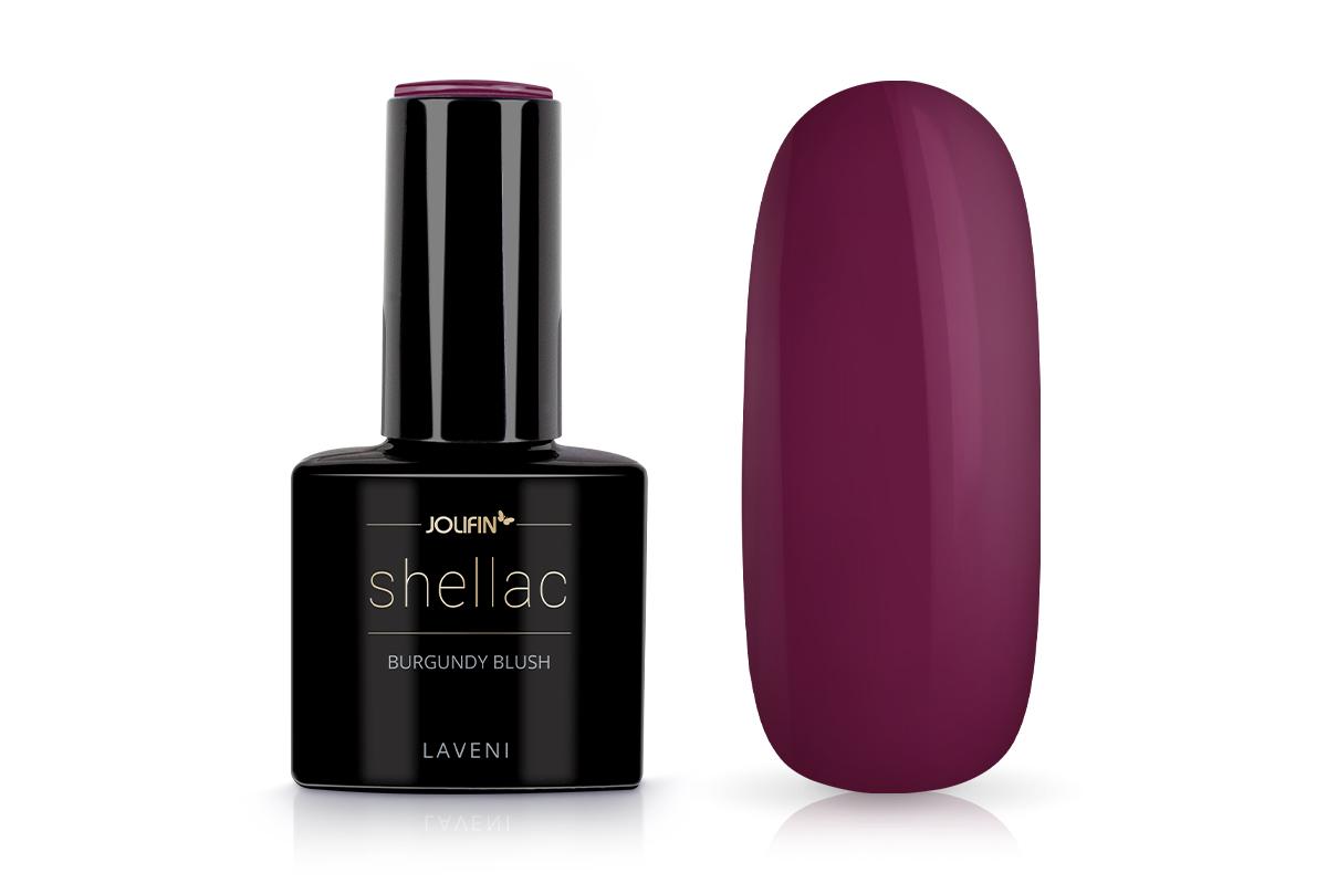 Jolifin LAVENI Shellac - burgundy blush 12ml