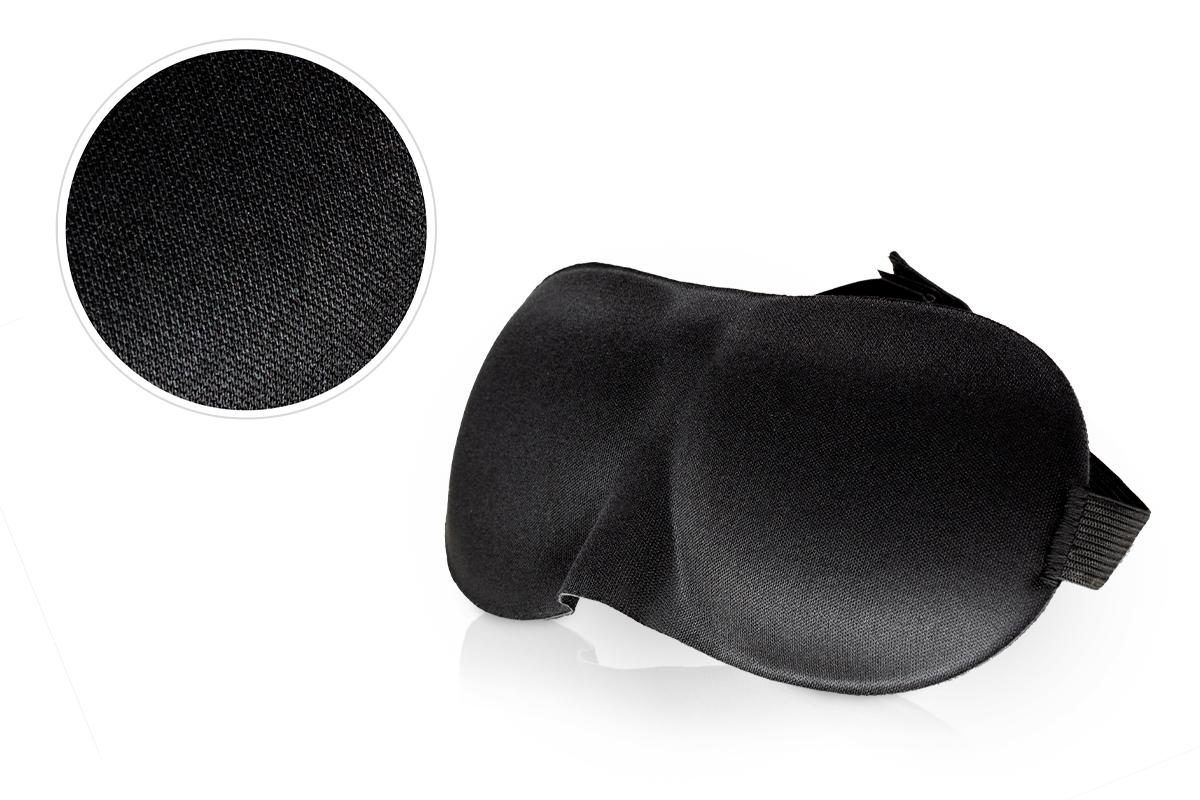 Jolifin Lashes - Schlafmaske schwarz