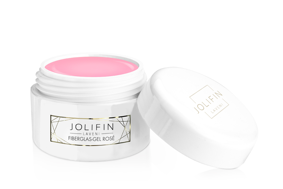 Jolifin LAVENI PRO Refill - Fiberglas-Gel rosé 15ml