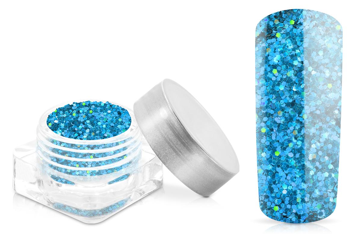 Jolifin Glitter Pailletten klein blau