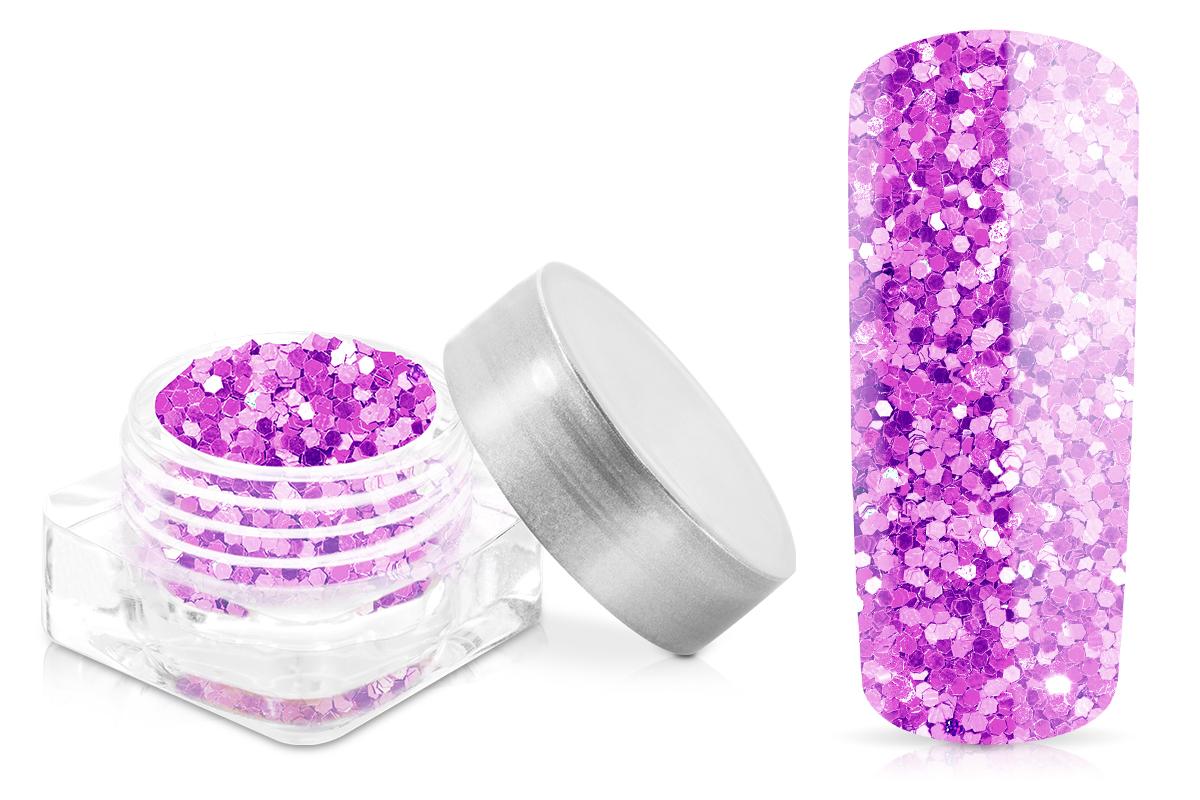 Jolifin Glitter Pailletten klein lila